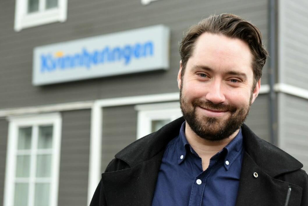 Høgre-politikar og snart journalist i Kvinnheringen, Peder Sjo Slettebø.