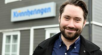 I fjor var han ordførar. No blir Peder Sjo Slettebø journalist i Kvinnheringen