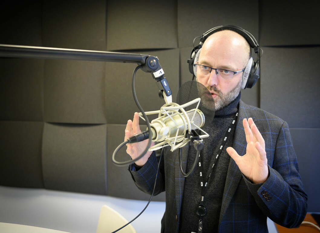 Sjefredaktør og administrerende direktør Mads Yngve Storvik i NTB.