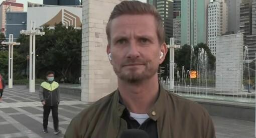 TV 2-profil dekket korona-krisen i Hongkong - ble smittet i Bergen