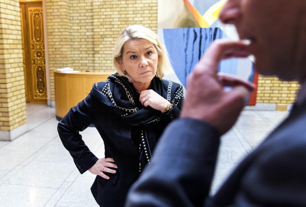 Arkivfoto: Monica Mæland, justisminister.