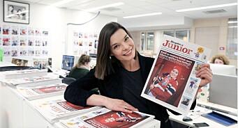 Aftenposten Junior knuser rekorder: Fra 1000 til 75 000 lesinger av sin digitale utgave