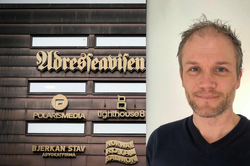 Erlend Hansen Juvik er ny nyhetsredaktør i Adresseavisen.