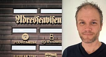 Erlend Hansen Juvik gjør comeback som nyhetsredaktør i Adresseavisen