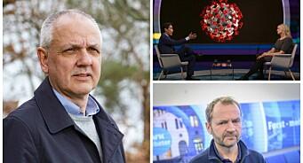 FHI-overlege mener Fredrik Solvang og Debatten bommet. Nå tar NRK selvkritikk