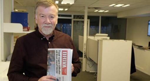 Sigmund Tjelle (65) gir seg som Driva-redaktør