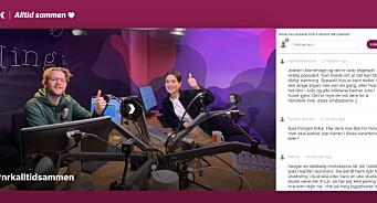 NRK med ny døgnåpen sending: – Ingen skal måtte være alene