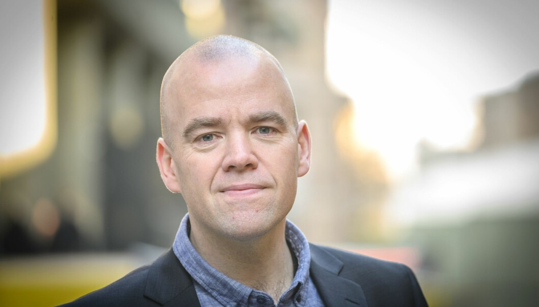 Ansvarlig redaktør Tom Martin Kj. Hartviksen i Gudbrandsdølen Dagningen (GD).
