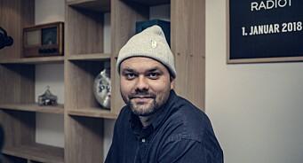 Programleder Lars Berrum har meldt seg til sykepleier-tjeneste
