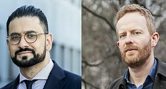 Yama Wolasmal og Simen Ekern blir NRK-korrespondenter