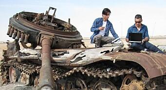 Fra en utbombet tanks rapporterte Yama Wolasmal om krigen i Libya. Nå reiser NRK-profilen tilbake til Midtøsten