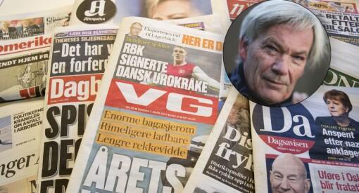 Kulturministeren bør ta fram eliminasjonsmetoden for å ende opp med avisene som er mest utsatt i koronatider