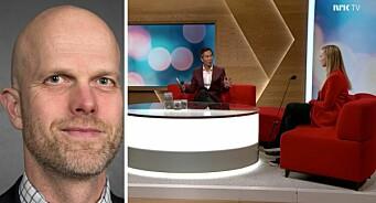 Hallgeir Kvadsheim slaktar NRK-program: – Eg blir oppgitt. Barnelærdom!