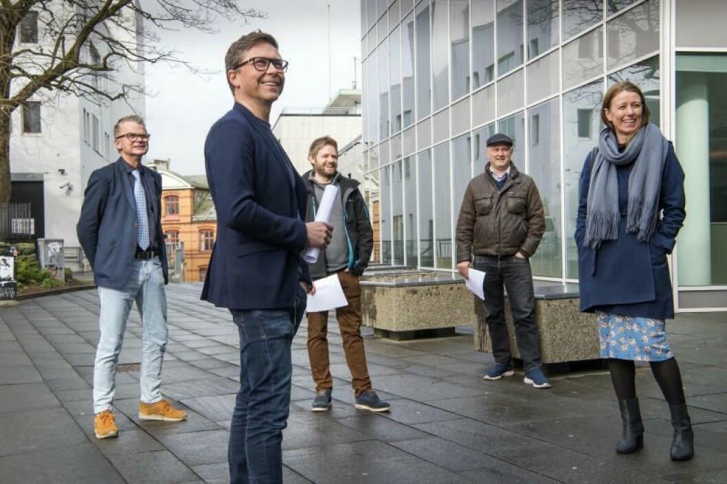 Lars Helle, Stavanger Aftenblad, Ragnar Christensen, NRK Rogaland, Tommy Aase, Screen Story, Harald Halvorsen, Mediability og Annenita Bakker Schøyen, Mediafarm.