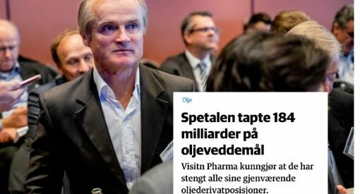DN beklager flere feil i artikkel med investor Stray Spetalen:– Jeg har et kjølig forhold til redaksjonen