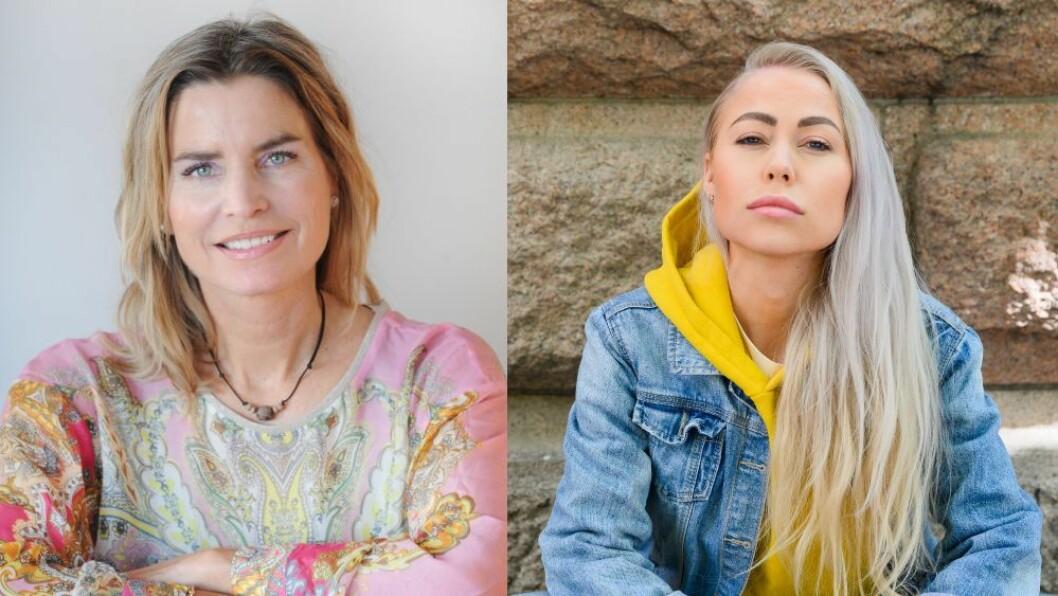 Redaktør Julia Schreiner Benito i helsenettstedet Caluna og journalist og kommentator Ingeborg Senneset i Aftenposten.