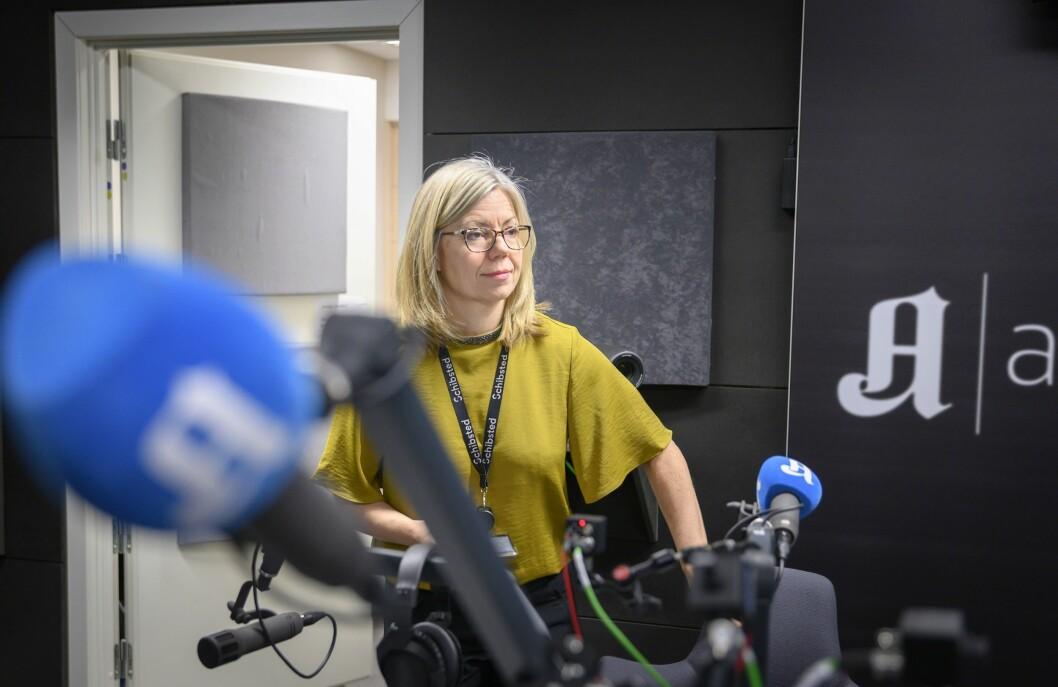 Sjefredaktør og administrerende direktør Trine Eilertsen i Aftenposten trapper opp avishusets Oslo-satsing.