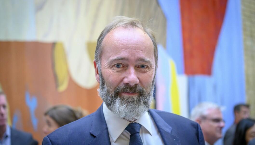 Mediepolitisk talsmann Trond Giske i Ap.