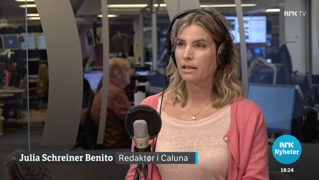 JULIA SCHREINER BENITO, gründer og redaktør hos helsenettstedet Caluna