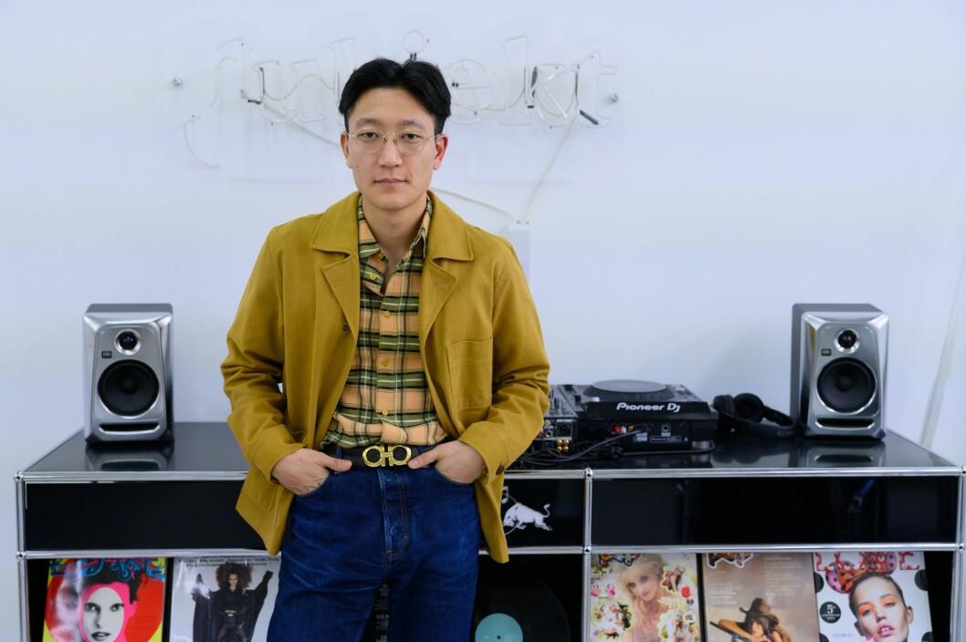 Sjefredaktør og eier Danby Choi i kulturmagasinet Subjekt.