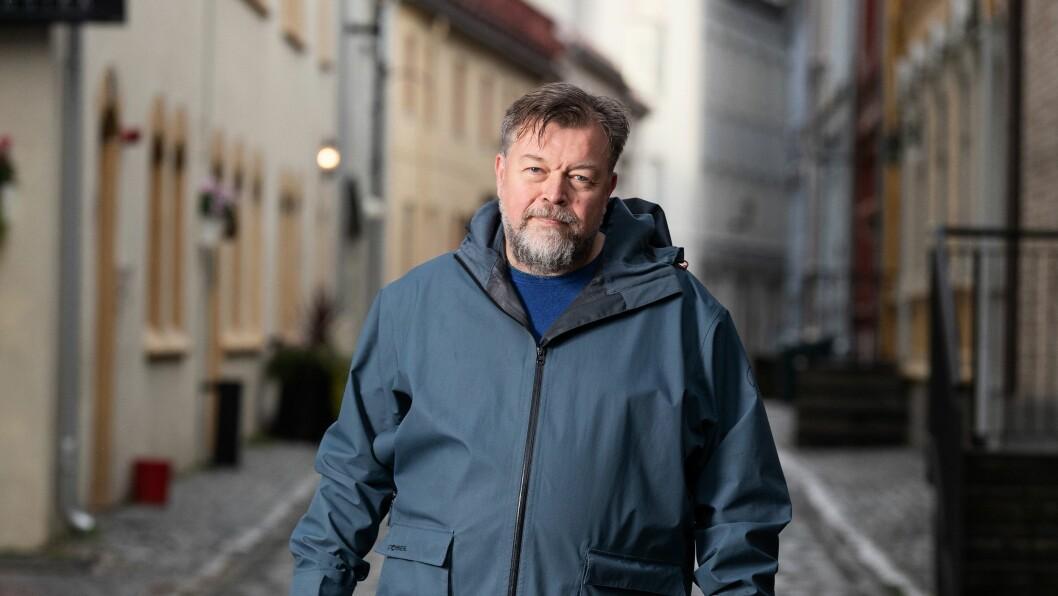 Programleder Lars Erik Ertzgaard Ringen i NRK Kurér.