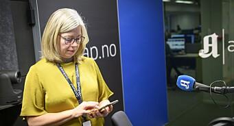 Flere sjefredaktører fraråder sine journalister å laste ned den omstridte smitteappen