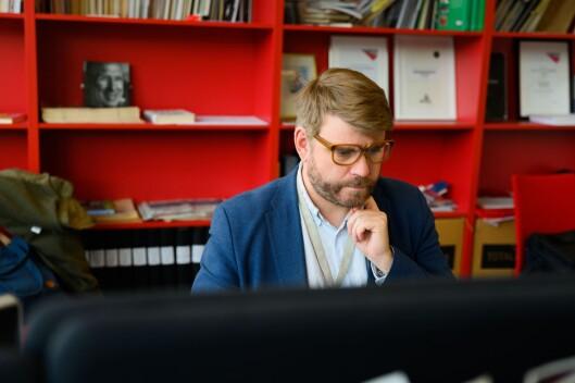 Sjefredaktør Sigvald Sveinbjørnsson i Bergensavisen.