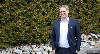 Thomas Furuseth (39) ansatt som innholdsprodusent hos DNB Nyheter