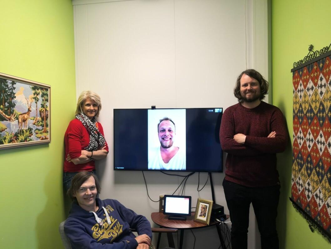 Gjengen bak Glidens pris: Siri Gedde- Dahl,  John Rasmussen og Bernt Jakob Oksnes. Torgeir Krokfjord er med på video.