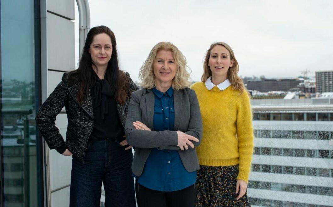 Janne Johannessen, Anita Hoemsnæs og Jorunn Aartun i Dagens Næringsliv startet opp Facebook-gruppa DN Kvinner. Heidi Odde Karstensen har også vært sentral i arbeidet, men var ikke til stede da Medier24 besøkte gjengen i mars 2019.