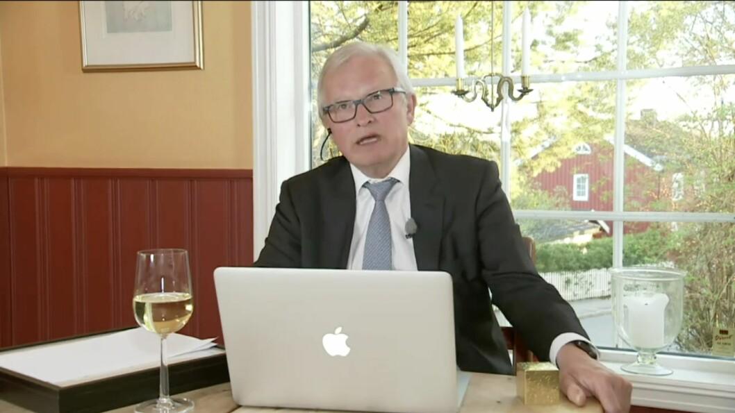 Juryleder Bernt Olufsen i SKUP.