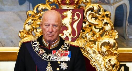 Kong Harald blir høy beskytter for årets TV-aksjon