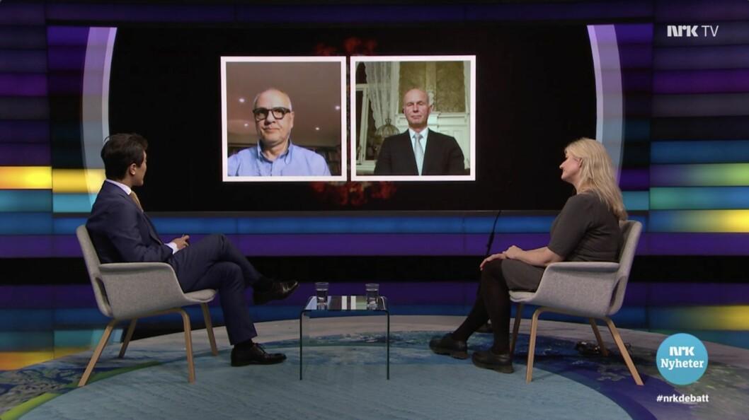 NRKs Debatten-sending.