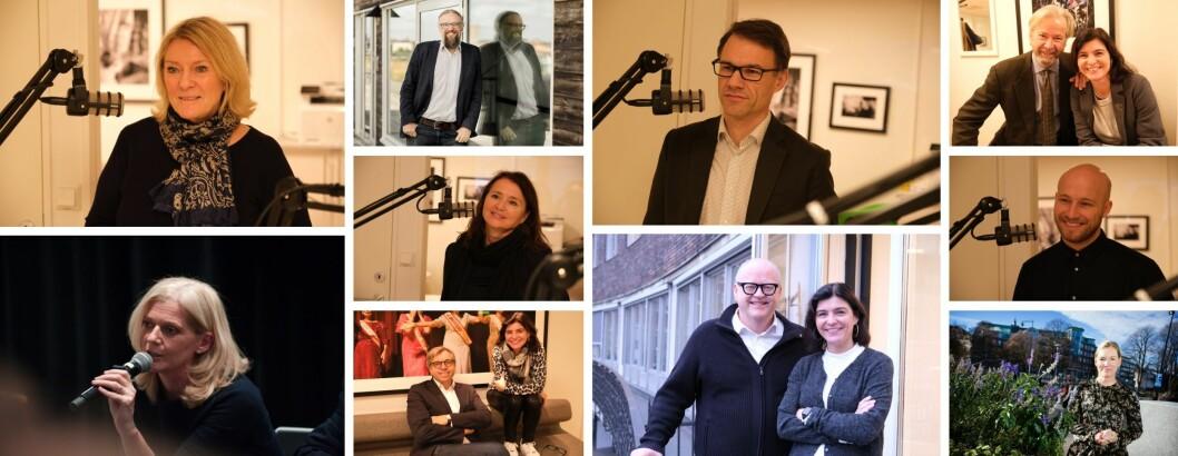Lucy Kueng, Kristin Clemet og Ole Jacob Sunde er blant gjestene som snakker om fremtidensmedier i podkasten Tinius Talks fra Stiftelsen Tinius.