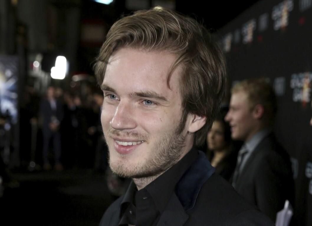 YouTube-stjernen Felix «Pewdiepie» Kjellberg