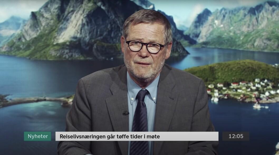 DNB-reklame med tidligere «God Morgen Norge»-programleder Jan Øyvind Helgesen.