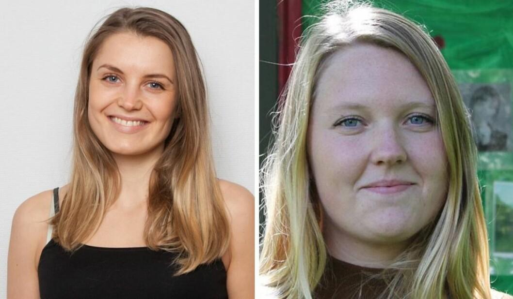 Vilde Bratland Hansen (25) og Marte Iren Noreng Trøen (29) er ansatt i NRK Innlandet