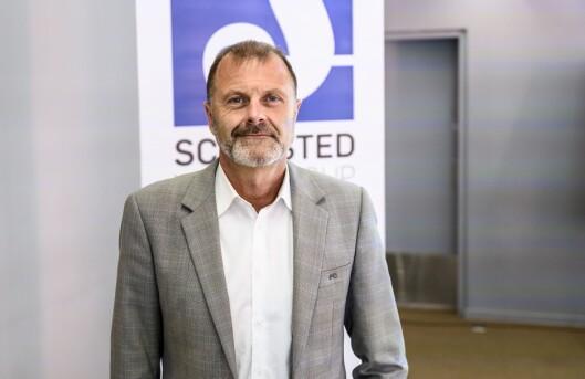 Atle Lessum, kommunikasjonsdirektør i Schibsted.