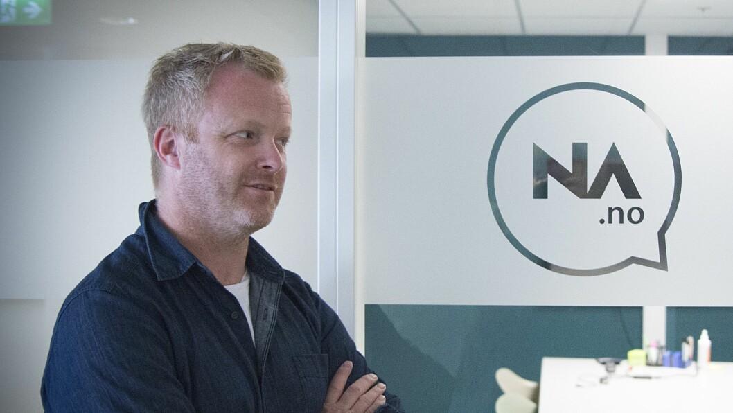 Direktør for innovasjon Pål Nisja-Wilhelmsen i Nettavisen.