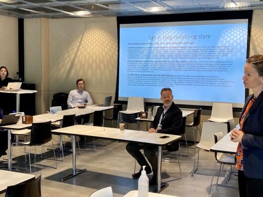 Generalforsamlingen til Morgenbladet 15. mai 2020.