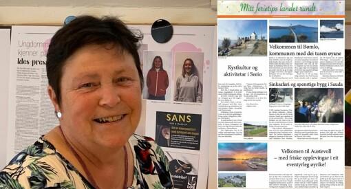 Nesten 40 lokalaviser går sammen om ny satsing: Vil løfte fram Norge som ferieland