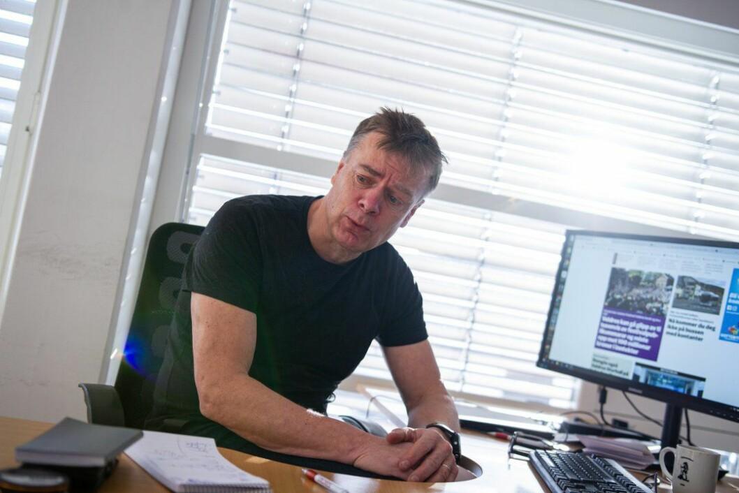 Ivar Brynildsen har vært redaktør i Valdres i 10 år, når han takker for seg neste sommer.