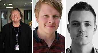 Kristin Ytre-Arne, Sølve Rydland og Sindre Helgheim blir faste NRK Vest-sjefar