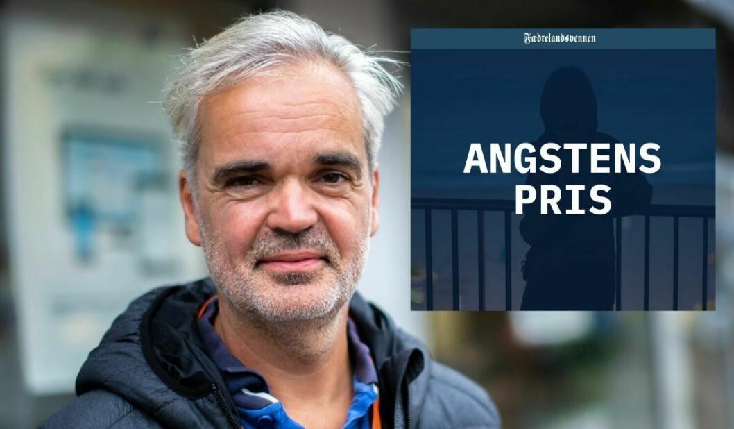 Fædrelandsvennen-redaktør Eivind Ljøstad. Artikkel innfelt.