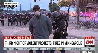CNN-journalist pågrepet under direktesending