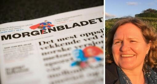 – Umogleg for NHST å vinna tilbake tilliten i Morgenbladet