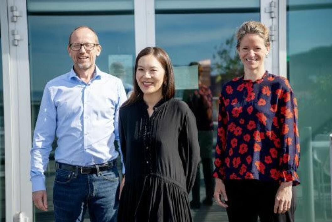 Per Magne Tveiten i Mentor Medier, Sun Heidi Sæbø i Morgenbladet i Hege Yli Melhus Ask i NHST har blitt enige om Morgenbladet.