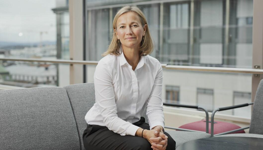Siv Juvik Tveitnes, konserndirektør for Schibsteds nyhetsmedier