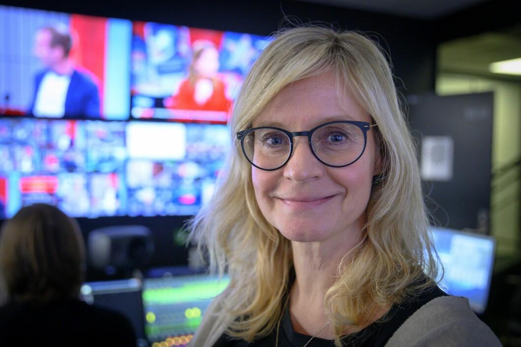 Nyhetsredaktør Karianne Solbrække i TV 2.