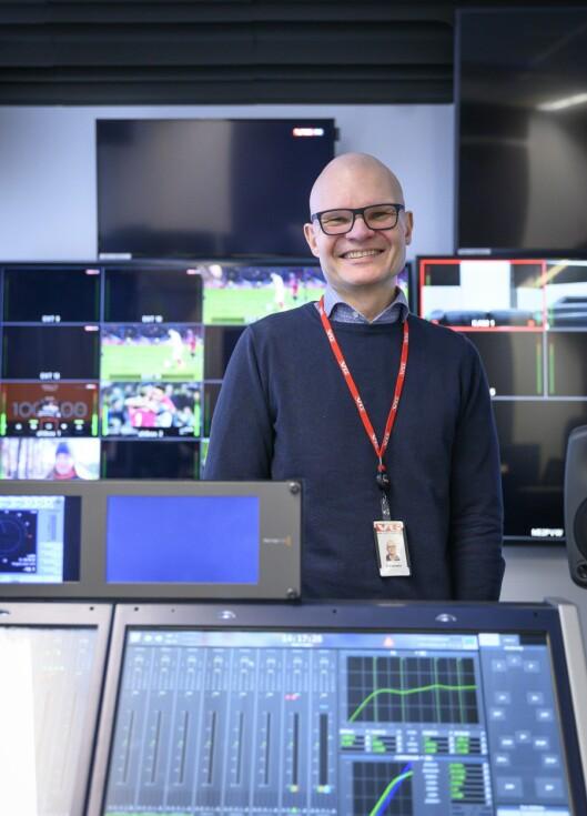 Redaktør Rolf Sønstelie i VGTV.